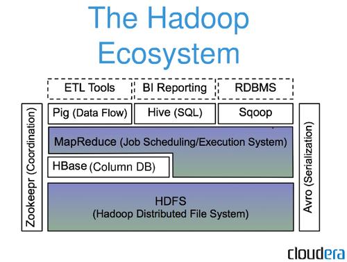 The Hadoop Ecosystem