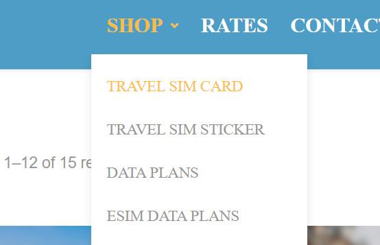 knowroaming travel sim card buy 1